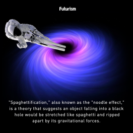spaghettification